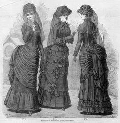 1880 half mourning dresses.