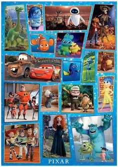 Disney Pixar, Puzzles, Painting, Art, Art Background, Puzzle, Riddles, Painting Art, Kunst