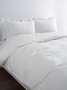 Frette Clessidra Pizzo Cotton Duvet Cover