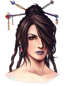 Final Fantasy X - Lulu Face