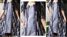 Long Jacket Dresses, Shrug For Dresses, Long Dress Design, Kurti, Churidar, Dress Cuts, Long Jackets, All About Fashion, Indian Dresses