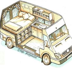Camper design and layout