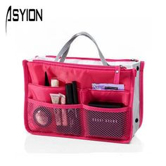 ASYION 2016 Hot Sale Multifunction Makeup Organizer Bags Women Cosmetic Toiletry Kits Outdoor Travel Bags Ladies Bolsas DB5403-in Cosmetic Bags & Cases from Luggage & Bags on Aliexpress.com   Alibaba Group