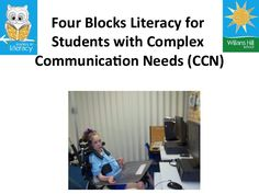 four-blocks-literacy-for-students-with-complex-communication-needs-13146620 by Jane Farrall via Slideshare