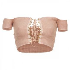 Chiara Laced Top ARE YOU AM I ❤ liked on Polyvore featuring tops, shirts, crop top, crop and t-shirts