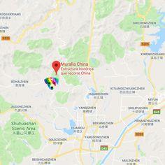 Geolocalización de El perro arcoíris sonríe en Cice visto en china