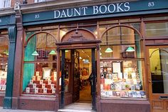 #Bookworms, worry no more! We have located the perfect place for you to find great reads, at #Daunt Books.