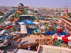 Phase One of Amaazia Amusement Park in India Built Around Polin Waterslides