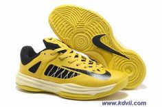 New Mens Nike Hyperdunk Low 54671700 Vivid Sulfur Electric Yellow Black