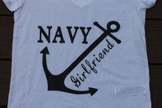 Navy Girlfriend! by AmyJaneBeauty on Etsy#USMC #military #militarylove #militarygirlfriend #usmcgirlfriend #usmcwife #usa #navy #milso #army #navygirlfriend #navywife #armygirlfriend #armywife #airforce #airforcewife #airforcegirlfriend