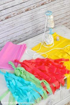 Rainbow/Art Themed Party Kara's Party Ideas