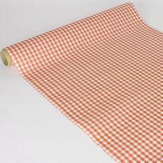 Chemin de table Vichy Rouge intissé0,4x10m - 11,90€  Serviettes intissées x25 - 7,90€