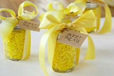 Inexpensive shower favors