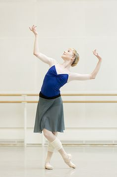 Sarah Lamb in rehearsal for The Winter's Tale © ROH/Johan Persson, 2014 by Royal Opera House Covent Garden