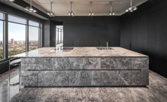 A New Sydney Showroom for Luxury Kitchen Brand Eggersmann New Kitchen Designs, Luxury Kitchen Design, Bespoke Kitchens, Luxury Kitchens, European Kitchens, German Kitchen, Kitchen Showroom, Luxury Girl, Quality Kitchens