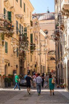 Sardinien-Alghero-Innenstadt