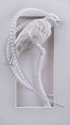 Incredible Paper Sculptures by Calvin Nicholls – Fubiz Media