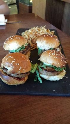 Viaggio a Madrid - tapas hamburger dello chef...