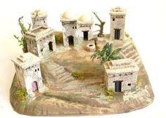 Architectural Sculpture, Diorama, Nativity, Backdrops, Table Decorations, Wallpaper, Christmas, Restaurant Mexicano, Case