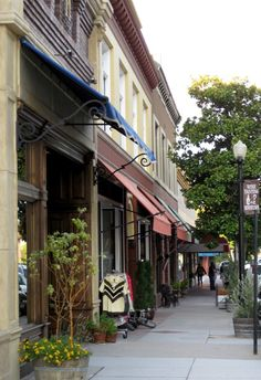 Historic Downtown Paso Robles, CA is filled with family-owned boutiques, restaurants, cheese shops and more. It's fun to just stroll.