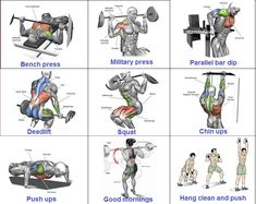 Muscle Building Tips. Gain More Mass With These Weight Training Tips! You can enjoy yourself and see the progress of an effective workout routine. Full Upper Body Workout, Muscle Gain Workout, Best Gym Workout, Good Pre Workout, Workout Pics, Gym Workout Chart, Best Workout Routine, Gain Muscle, Muscle Mass