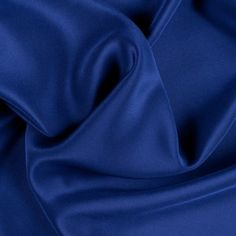 Beautiful silk crepe de chine made especially for Mood. Silk crepe de chine is perfect for all kinds of garments, from blouses to linings. Available in 96 attractive shadesNote: Dye lots are s Blue Fabric, Silk Fabric, Mood Fabrics, Silk Crepe, Fashion Fabric, Fabric Online, Clothing Patterns, David Zyla, Yard