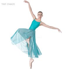 a775d9a96d US $34.0 |TINY DANCE Long Camisole Style Spandex Ballet Dance Mesh Dress  for Adult Girls Lyrical and Contemporary Dancing Costume 18425-in Ballet  from ...
