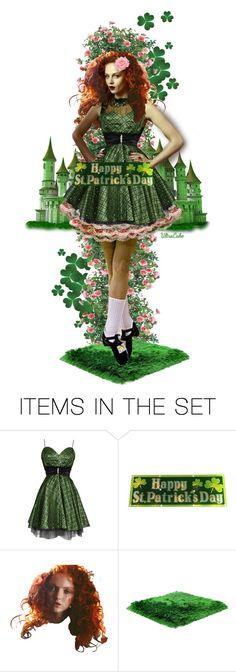 """""""My Wild Irish Rose"""" by ultracake ❤ liked on Polyvore featuring art"""