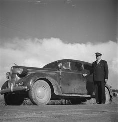 1937 Dodge taxi cab in early Patras, Finland, Dodge, Antique Cars, Antiques, Vehicles, Antiquities, Rolling Stock, Antique