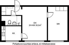 Porttikuja, Kontula, Helsinki, 2h+kk 50 m², SATO vuokra-asunto