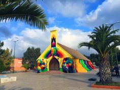 Street art transformed this old Moroccan church into something incredibly vibrant - Matador Network