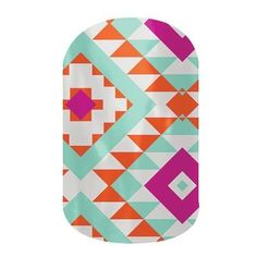 Tribal Vibrance Jamberry Nails!