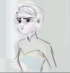 "animatingforfun:  princehans:  Let It Go 'draw-overs' Pt 1 Pt 2 Source  Drawovers I drew over the first pass of my ""Letting hair down"" shot on Frozen.  I'm honored people on tumblr think these were done by Mark Henn, but they're not that good. :) These were quick messy sketches I did, which were not meant to be shown to anyone. I wasn't liking my first animation pass that I did in the computer so I quickly corrected what I didn't like with these ugly drawovers.  After drawing them, I knew I…"