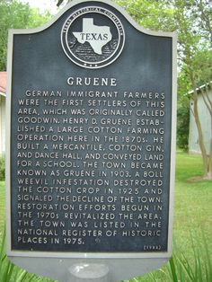 Gruene, Texas--The little Texas town that will forever hold my heart.