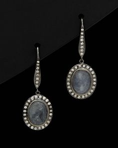Spotted this Sethi Couture Silver 3.16 ct. tw. Diamond & Sapphire Drop Earrings on Rue La La. Shop (quickly!).