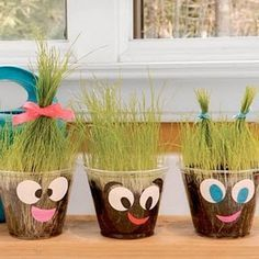 """Crafts for Kids crafts- we just did this in preschool, and the kids LOVED giving them """"haircuts"""" today! Kids Crafts, Toddler Crafts, Preschool Crafts, Projects For Kids, Arts And Crafts, Easy Crafts, Craft Projects, Bible Crafts, Toddler Fun"""