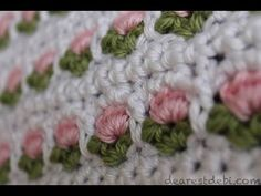 What a lovely flower stitch! Crochet Window Flower Stitch by Debi Dearest can be used for a variety of projects. From adorable field of flowers type of afghans to cute baby blankets and wonderful baskets worked in the round, this gorgeous flower crochet stitch that creates textures with a beautiful look will impress anyone. Watch …
