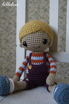 Taaniel - amigurumi boy doll