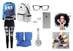 """Cookies & Cream"" by shantiboo32 ❤ liked on Polyvore featuring Glamorous, MCM, UGG Australia, Ray-Ban, Incase, Beats by Dr. Dre and Marc by Marc Jacobs"