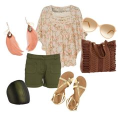 """""""Pink Floral"""" by berura on Polyvore"""