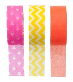 lot de 3 masking tapes – HEMA