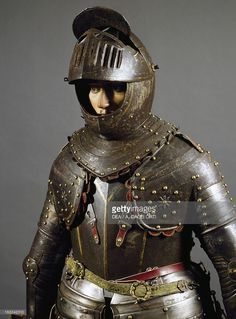 ストックフォト : Corselet in burnished steel, England, first half of 17th century