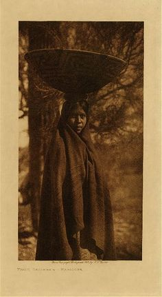 Library of Congress: Edward S Curtis Collection Fruit gatherer - Maricopa