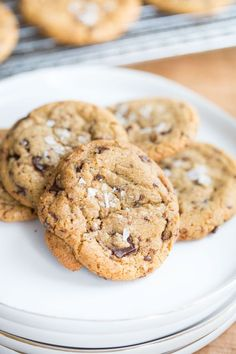 Sea Salt Brown Butter Chocolate Chunk Cookies