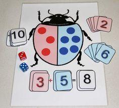 Jeux Mathématiques pour introduire l'addition Plus