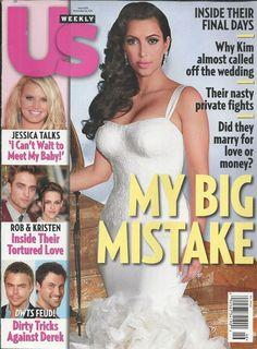 US Weekly magazine Kim Kardashian Robert Pattinson Jessica Simpson DWTS