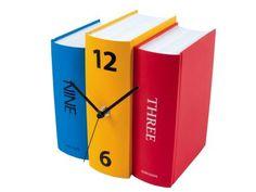 Színes Könyvek asztali óra 8450