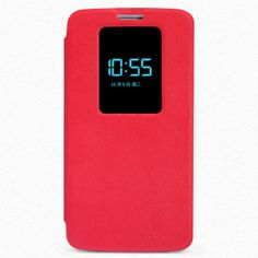 OEM Θήκη Smart Cover Preview (Flip Case) - Κόκκινο (LG G2) - myThiki.gr - Θήκες Κινητών-Αξεσουάρ για Smartphones και Tablets - Χρώμα κόκκινο Digital Alarm Clock, Cases
