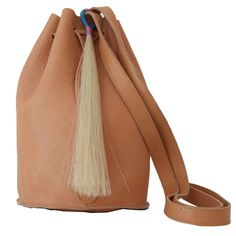 Drawstring Tassel Purse