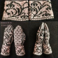 Ravelry: Ornamental mitten pattern by Jenny Lorefors